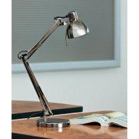 Halogenová stolní lampa BaseTech, GU10, 35 W, tmavě šedá