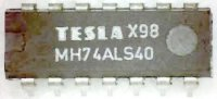 74ALS40 2x 4vstup. NAND, DIL14 /MH74ALS40/
