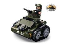 Stavebnice SLUBAN ARMY OBRNĚNÝ VŮZ M38-B0587C