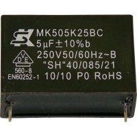 Foliový kondenzátor MKP MK250K104, 0,1 µF, 250 V, 10 %, 18 x 5 x 11 mm