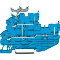 Hlavní svorka WAGO 2020-2239, osazení: N, pružinová svorka, 3.50 mm, šedá, 1 ks