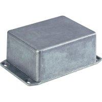 Tlakem lité hliníkové pouzdro Hammond Electronics 1590SFLBK, (d x š x v) 111 x 82 x 44 mm, černá