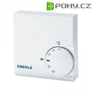 Pokojový termostat Eberle RTR-E 6124, 5 až 30 °C, bílá