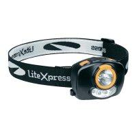 LED čelovka Liberty 116 LiteXpress, LXL207401, černá