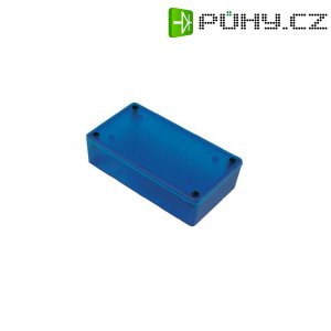Univerzální pouzdro Hammond Electronics 1591XXETBU, 193 x 113 x 61 , ABS, modrá (transparentní)