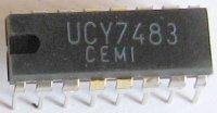 7483 - 4-bit binární čítač, DIL16 /UCY7483, CDB483/