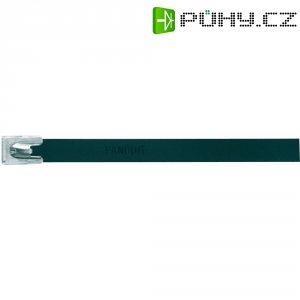 Hliníkový stahovací pásek 362 x 7,9 mm, černý, Panduit-MLT4H-LPALBL 222 N
