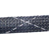Ochranný oplet Ø svazku: 3 - 9 mm HellermannTyton HEGPV0X06-PBT-BK-T4 Množství: metrové zboží