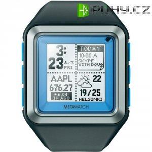 Smart watch MetaWatch Strata, 457, plastový pásek, modrá
