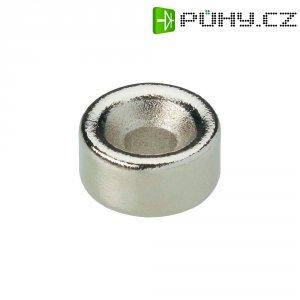 Permanentní magnet kruhový N35 1.21 T Max. pracovní teplota: 80 °C