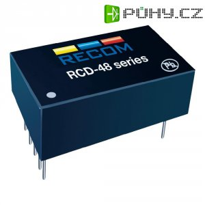 Napájecí zdroj LED Serie Recom Lighting RCD-48-0.50/W, 0-500 mA, 9-60 V/DC