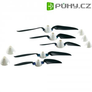Sklopné vrtule CFK, 21,25 x 11,25 cm, 3,2 mm
