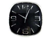 Nástěnné hodiny - chrom