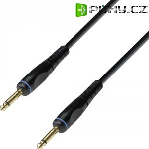 Instrumentální kabel JACK 6,3 mm Adam Hall, 3 m, černá