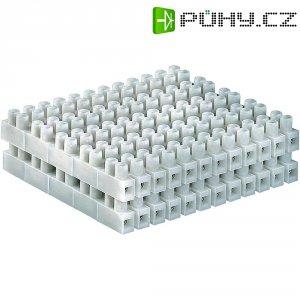 Svorka, 2,5 - 6 mm², 12pólová, bílá