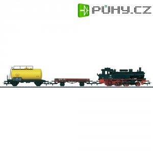 Startovací sada H0 nákladního vlaku a parní lokomotivy Märklin World 29166