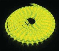 Světelná hadice LED 9m, 216 LED, žlutá