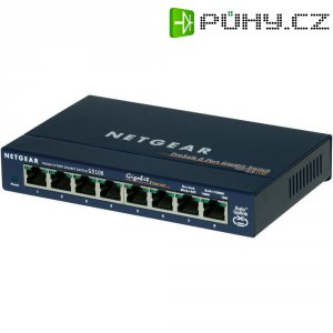 Switch Netgear Gigabit GS108, 8-portový