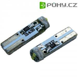 Žárovka Eufab SMD-LED T5, 1 W, červená, 2 ks