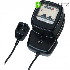 Analogový elektroměr s mezi zásuvkou, 230 V/16 A