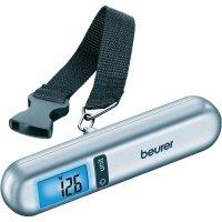 Váha na cestovní zavazdla Beurer max. váživost 40 kg, rozlišení 10 g, stříbrná