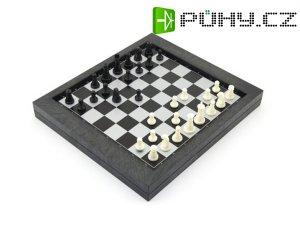 Hra stolní ŠACHY a DÁMA magnetická cestovní