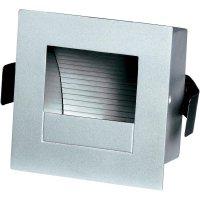Vestavné osvětlení G4 SLV Frame Curve 151862, max. 10 W , stříbrná/šedá