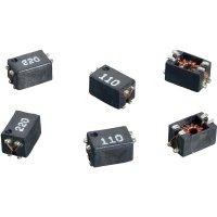 SMD odrušovací cívka Würth Elektronik SLM 744242330, 33 µH, 0,3 A, 80 V/DC, 42 V/AC