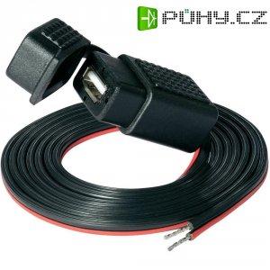 USB zásuvka s krytem a kabelem ProCar, 68302111, 1,5 m, 12 V ⇔ 5 V, 1 A