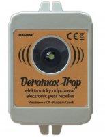 Odpuzovač divoké zvěře - ultrazvukový bateriový DERAMAX-TRAP