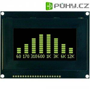 Displej OLED VGY12864L-S003, 63.94 x 31.94 mm, 128 x 64 px, 6.86 cm, žlutá