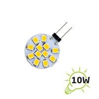 Žárovka LED G4 12SMD, 1,2W bílá teplá