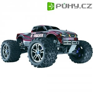 RC model Brushless Monster truck Traxxas E-Maxx, 1:8, 4WD, RtR 2.4 GHz