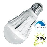 LED žárovka, klasický tvar, 12W, E27, 3000K, 1000lm, stmívatelná