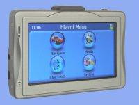 GPS navigace bez map s bluetooth a FM vysílačem + přehrávač