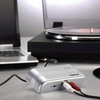 Korekční phono předzesilovač Hama PA 005, stereo, USB, stříbrná, 40515