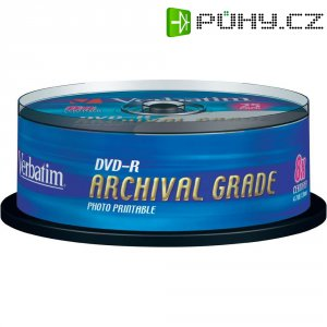 Verbatim DVD-R 4,7GB 8X 25 ks SP ARCHIVAL