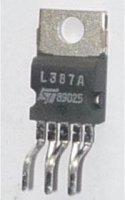 L387A-stabilizátor 5V/0,5A TO220