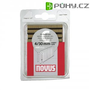 Sponky do sponkovačky Novus typ C4/18, 042-0391, 1100 ks