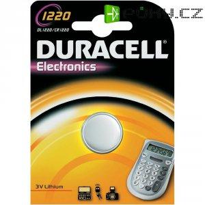 Knoflíková baterie Duracell CR1220, lithium, DUR030305
