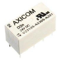 Relé AXICOM D2n 24V, 250V~/3A 20x10x12mm