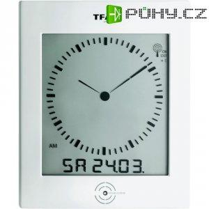 Digitální DCF hodiny s analogovým zobrazením TFA 60.4506, 220 x 265 x 31 mm