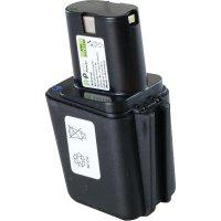 Náhradní akumulátor pro akuvrtačky, šroubováky apod., APBO-9,6 V/2,0 AH