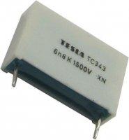 6n8/1500V TC343, svitkový kondenzátor impulsní