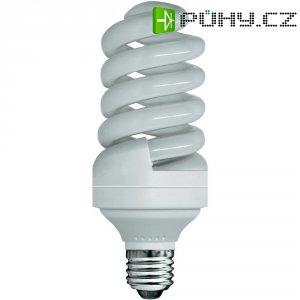 Úsporná žárovka spirálovitá E27, 24 W, teplá bílá