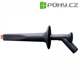 Měřicí krokosvorka MultiContact AB200, 4 mm, černá