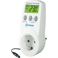 Univerzální termostatická mezizásuvka UT200, - 40 až + 99,9 °C