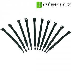 Stahovací pásek na kabely, 200 mm, sada 10 ks