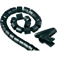 Ochrana kabelu HAMA EASY COVER, 30 mm, černá
