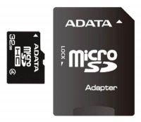 Karta paměťová ADATA Micro SDHC 32GB Class 4 + adaptér